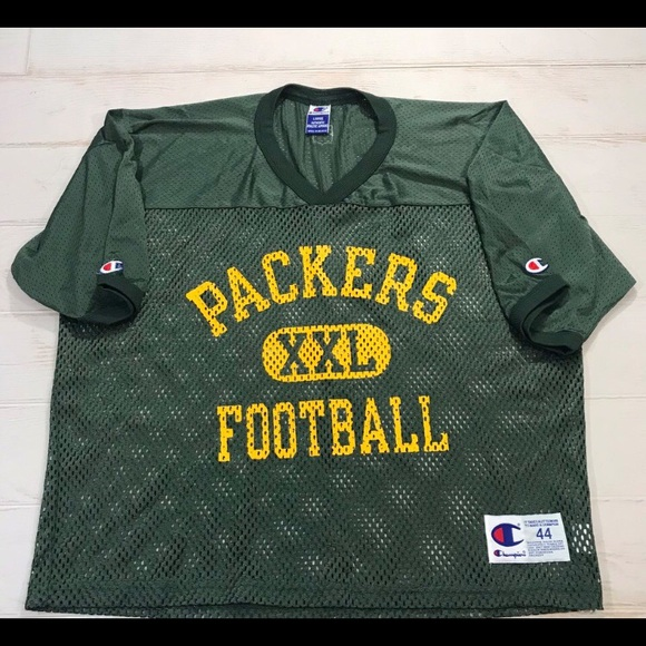 Champion Other - VTG Champion Green Bay Packer Cropped Retro Jersey bbf097626